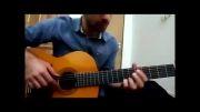 گیتار،اجرای آهنگ زیبای سرگرمی تو،محسن یگانه