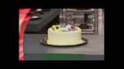 کلیپ بشدت خنده دار دوربین مخفی خراب شدن کیک تولد