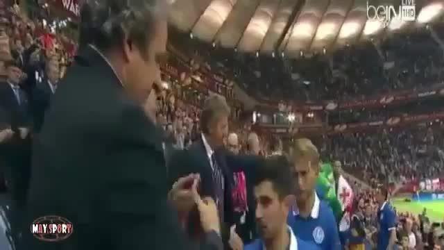 جشن قهرمانی سویا پس از قهرمانی در لیگ اروپا 2015