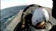 موزیک ویدیویی از جنگنده های F-35 و F-18 نیروی دریایی آمریکا