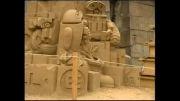 مجسمه های شنی سن پترزبورگ