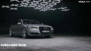 تکنولوژی چراغ های آئودی  - 2014 Audi A8 Matrix LED