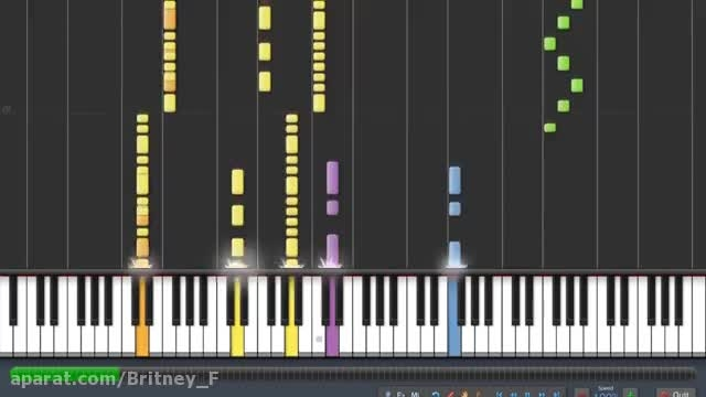 (Britney Spears - I wanna go (piano tutorial