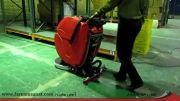 دستگاه اسکرابر قرمز رنگ RCM کشور ایتالیا - فرنام صنعت
