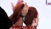 آموزش شینیون عروس ( مدل موی بسته )
