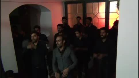شب عاشورا هیئت محبان حضرت علی اکبر شهر خوسف سال 1394
