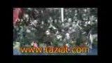 ظهر عاشورا 1391 - خروج هیئت حضرت اباالفضل علیه السلام از میدان تعزیه 2