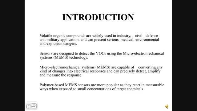 طراحی سنسور ممز شیمیایی خازنی