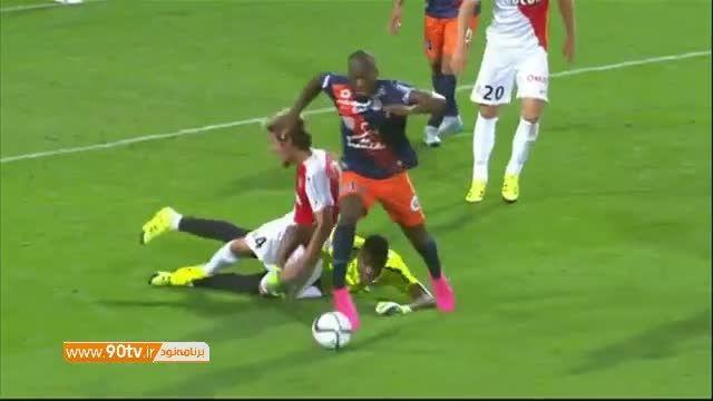 خلاصه بازی: مون پلیه ۲-۳ موناکو