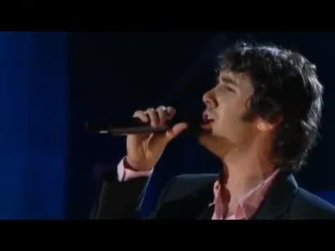 اجرای بسیار زیبا از جاش گروبان - You raise me up