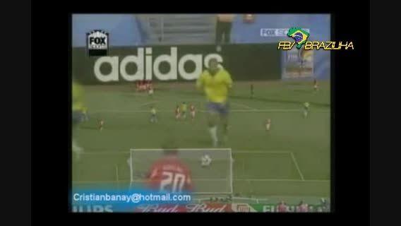 گلها و دریبل های بازیکنان برزیلی در برابر آلمان