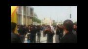 مراسم زنجیر زنی روز عاشورای حسینی محرم الحرام سال1393