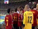 صحنه هایی از جشن قهرمانی اسپانیا