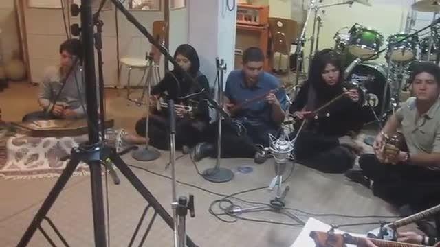 ضبط استودیو پاپ بخش 11-گروه تارنوازان - سرپرست گروه نیم