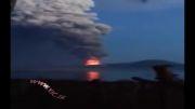 فوران کوه آتشفشان در _گینه نو...!