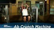 تقویت عضلات شکم با دستگاه - شکم شش تکه
