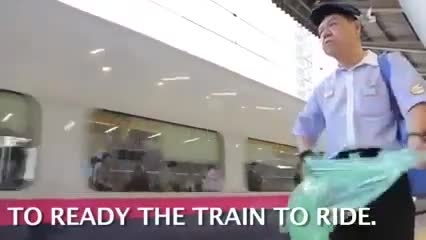 نظافت اعجاب انگیز مترو های ژاپن