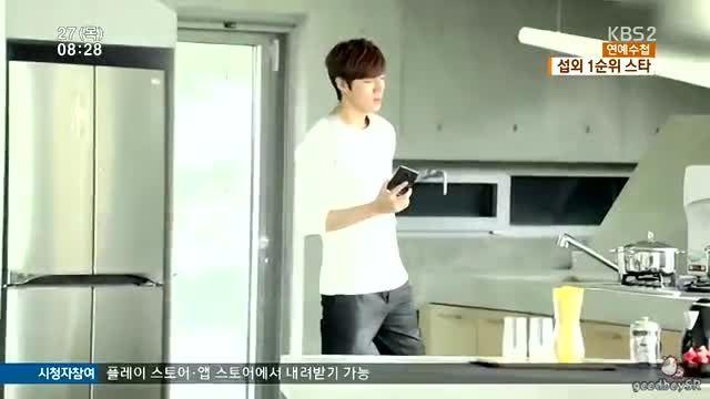 ♥اوپا لی مین هو♥۲۰۱۵.۸.۲۷پخش خبر از شبکه KBS2 کره