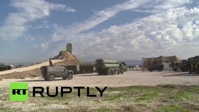 سامانه دفاع موشکی روسیه که در سوریه مستقر شد