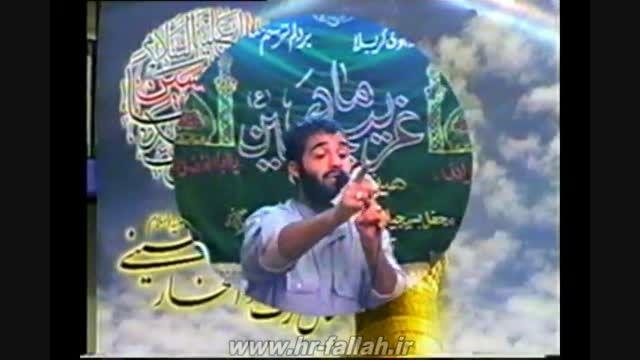 شوخی عبدالرضا هلالی با شاعرش در میلاد حضرت معصومه سال81