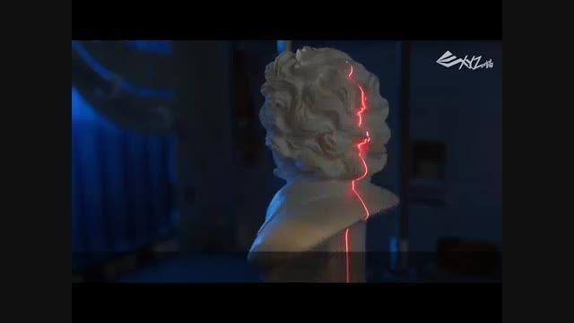 ساخت اسکنر سه بعدی متفاوت
