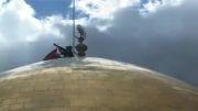 نصب پرچم حضرت زینب(س)
