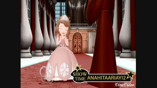 دوبله من از سوفیا کوچولو برای عضویت در ملکه یخی