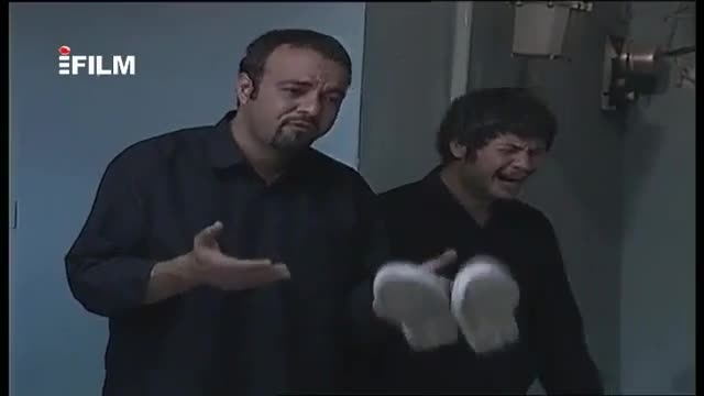 گریه کردن خییییلی خنده داره علی صادقی در متهم گریخت:)))
