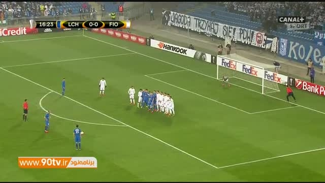 خلاصه بازی: لچ پوزنان ۰-۲ فیورنتینا