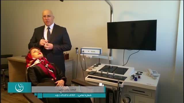 چسب زدن بینی پس از عمل