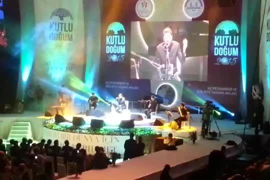 سامی یوسف-اجرای ترانه فارسی جان جانان در کنسرت آنکارا