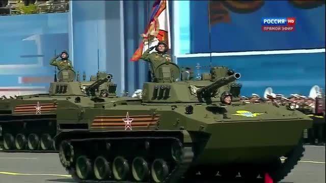 رژه روز پیروزی ارتش روسیه 2015