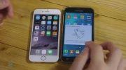 مقایسه تست سرعت iPhone 6 vs Samsung Galaxy S5