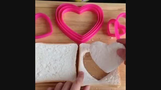 ایده ی خیلی جالب برای صبحانه