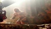 نعره کشیدن راک در فیلم هرکول 2014