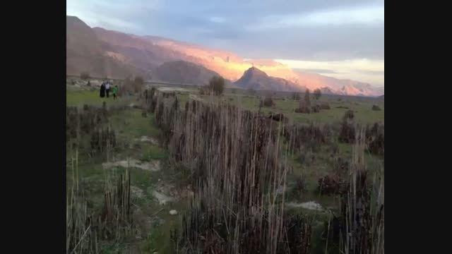 خشکی زیباترین دریاچه آب شیرین خاورمیانه