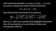 آموزش محاسبه عدم قطعیت اندازه گیری به روش نسبی