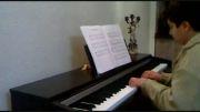 اجرای زیبای پیانو -  آهنگ رشید خان