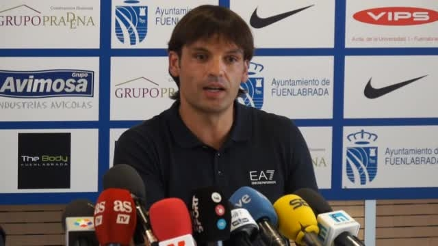 معارفه مورینتس در تیم جدیدش در دسته 2 اسپانیا