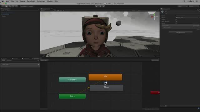آموزش کوتاه و سریع API انیمیشن در یونیتی 5