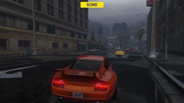 مقایس گرافیک GTA V بر روی PC,PS4,X1