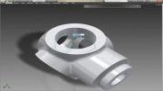 طراحی سه بعدی در نرم افزار Autodesk inventor2013