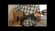 تک نوازی آهنگ Cheri Cheri Lady مدرن تاکینگ با گیتار