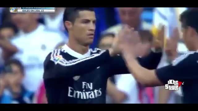هتریک کریستیانو رونالدو در مقابل اسپانیول