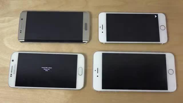 بازی GTA و مقایسه S6 Edge vs. iPhone 6 vs. S6 vs 6 plus