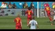 گل آرژانتین به بلژیک - نتیجه بازی آرژانتین و بلژیک ۱-۰