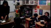 آموزش مواد محلول و نامحلول  پیش دبستان خانم خوانساری 93