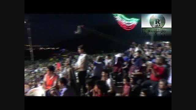 حسن ریوندی در جشن عید مبعث رامیان