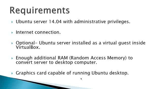 آموزش نصب محیط گرافیکی میز کار بر روی لینوکس کامند لاین
