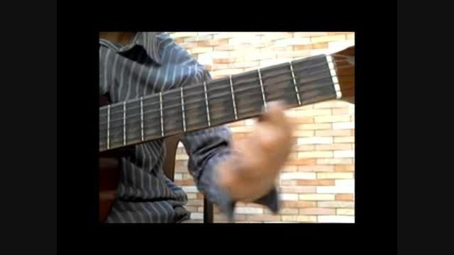 تمرین انگشت گذاری گیتار